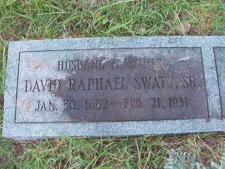 SWATY, SR, DAVID RAPHAEL - Dallas County, Arkansas | DAVID RAPHAEL SWATY, SR - Arkansas Gravestone Photos