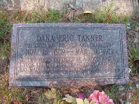 TANNER, DANA ERIC - Dallas County, Arkansas   DANA ERIC TANNER - Arkansas Gravestone Photos
