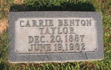 TAYLOR, CARRIE - Dallas County, Arkansas | CARRIE TAYLOR - Arkansas Gravestone Photos