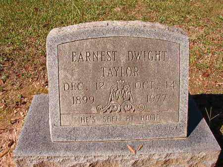 TAYLOR, EARNEST DWIGHT - Dallas County, Arkansas | EARNEST DWIGHT TAYLOR - Arkansas Gravestone Photos