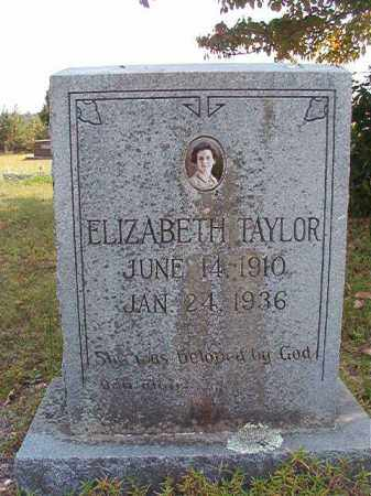 TAYLOR, ELIZABETH - Dallas County, Arkansas | ELIZABETH TAYLOR - Arkansas Gravestone Photos