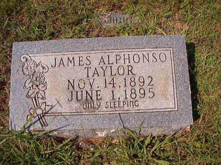 TAYLOR, JAMES ALPHONSO - Dallas County, Arkansas | JAMES ALPHONSO TAYLOR - Arkansas Gravestone Photos