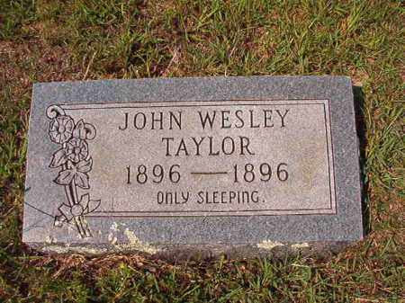 TAYLOR, JOHN WESLEY - Dallas County, Arkansas | JOHN WESLEY TAYLOR - Arkansas Gravestone Photos