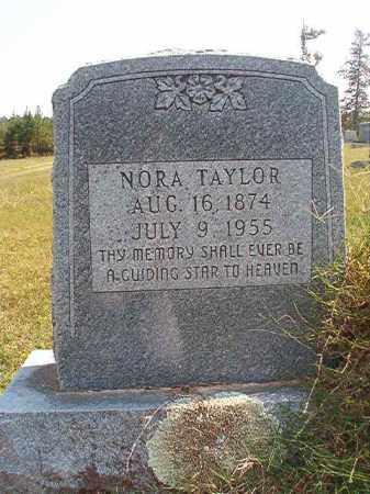 TAYLOR, NORA - Dallas County, Arkansas | NORA TAYLOR - Arkansas Gravestone Photos