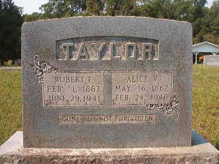TAYLOR, ALICE V - Dallas County, Arkansas | ALICE V TAYLOR - Arkansas Gravestone Photos
