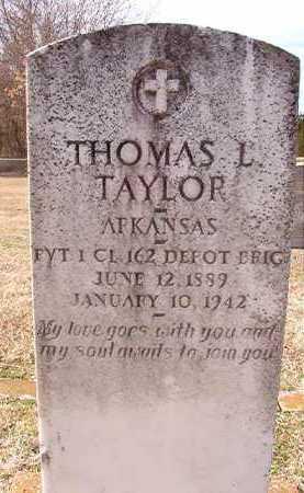 TAYLOR (VETERAN), THOMAS L - Dallas County, Arkansas | THOMAS L TAYLOR (VETERAN) - Arkansas Gravestone Photos
