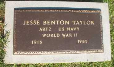 TAYLOR (VETERAN WWII), JESSE BENTON - Dallas County, Arkansas   JESSE BENTON TAYLOR (VETERAN WWII) - Arkansas Gravestone Photos