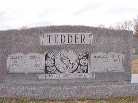 "TEDDER, CHARLES R ""SONNY"" - Dallas County, Arkansas | CHARLES R ""SONNY"" TEDDER - Arkansas Gravestone Photos"