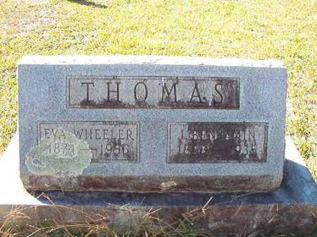 WHEELER THOMAS, EVA - Dallas County, Arkansas | EVA WHEELER THOMAS - Arkansas Gravestone Photos
