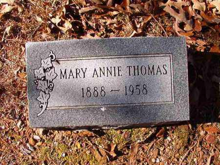 THOMAS, MARY ANNIE - Dallas County, Arkansas | MARY ANNIE THOMAS - Arkansas Gravestone Photos