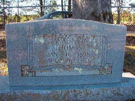 THOMAS, SARAH ANN - Dallas County, Arkansas | SARAH ANN THOMAS - Arkansas Gravestone Photos