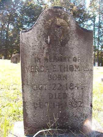 THOMAS, VERDA E - Dallas County, Arkansas | VERDA E THOMAS - Arkansas Gravestone Photos
