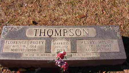 THOMPSON, FLORENCE - Dallas County, Arkansas | FLORENCE THOMPSON - Arkansas Gravestone Photos