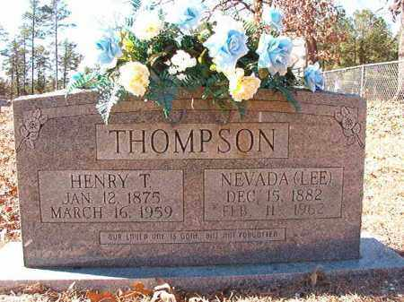 THOMPSON, NEVADA (LEE) - Dallas County, Arkansas | NEVADA (LEE) THOMPSON - Arkansas Gravestone Photos
