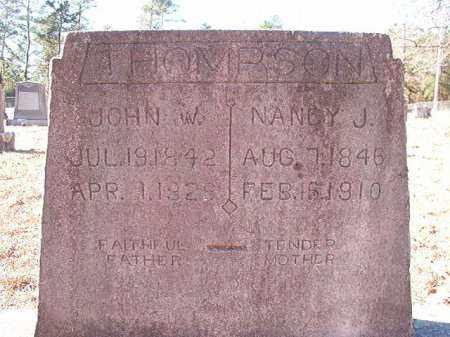 THOMPSON, NANCY J - Dallas County, Arkansas   NANCY J THOMPSON - Arkansas Gravestone Photos