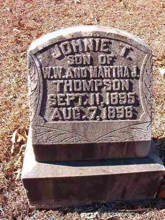 THOMPSON, JOHNIE T - Dallas County, Arkansas | JOHNIE T THOMPSON - Arkansas Gravestone Photos