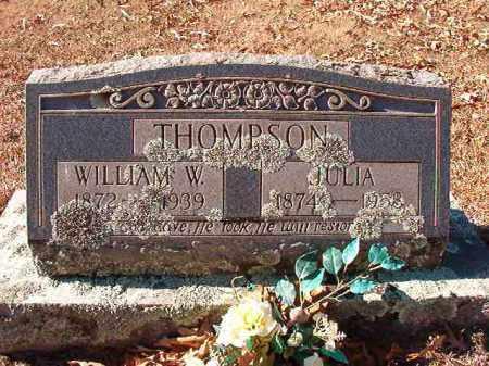 THOMPSON, WILLIAM W - Dallas County, Arkansas   WILLIAM W THOMPSON - Arkansas Gravestone Photos