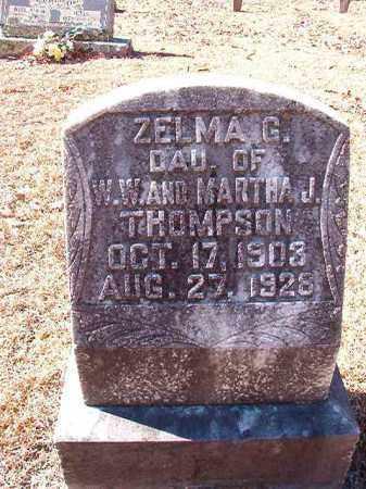 THOMPSON, ZELMA G - Dallas County, Arkansas | ZELMA G THOMPSON - Arkansas Gravestone Photos
