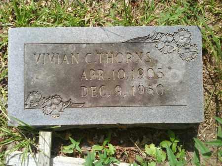 THORNS, VIVIAN C. - Dallas County, Arkansas | VIVIAN C. THORNS - Arkansas Gravestone Photos