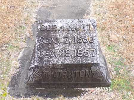 NUTT THORNTON, CORA - Dallas County, Arkansas   CORA NUTT THORNTON - Arkansas Gravestone Photos