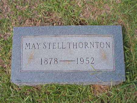 STELL THORNTON, MAY - Dallas County, Arkansas   MAY STELL THORNTON - Arkansas Gravestone Photos