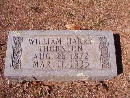 THORNTON, WILLIAM HARRY - Dallas County, Arkansas | WILLIAM HARRY THORNTON - Arkansas Gravestone Photos
