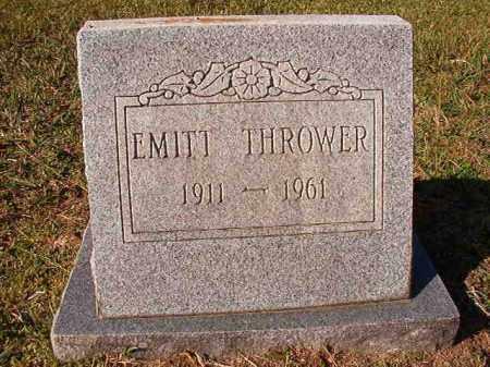 THROWER, EMITT - Dallas County, Arkansas   EMITT THROWER - Arkansas Gravestone Photos