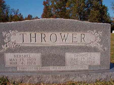 THROWER, DENNIS C - Dallas County, Arkansas | DENNIS C THROWER - Arkansas Gravestone Photos