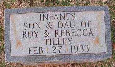 TILLEY, INFANT TWIN DAUGHTER - Dallas County, Arkansas | INFANT TWIN DAUGHTER TILLEY - Arkansas Gravestone Photos