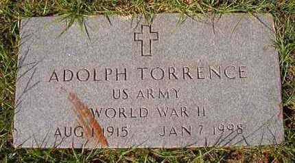 TORRENCE (VETERAN WWII), ADOLPH - Dallas County, Arkansas | ADOLPH TORRENCE (VETERAN WWII) - Arkansas Gravestone Photos