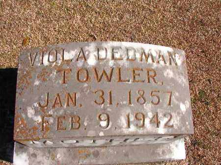 TOWLER, VIOLA - Dallas County, Arkansas | VIOLA TOWLER - Arkansas Gravestone Photos