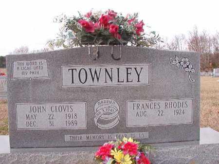 TOWNLEY, JOHN CLOVIS - Dallas County, Arkansas | JOHN CLOVIS TOWNLEY - Arkansas Gravestone Photos