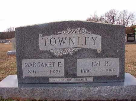 TOWNLEY, MARGARET E - Dallas County, Arkansas   MARGARET E TOWNLEY - Arkansas Gravestone Photos