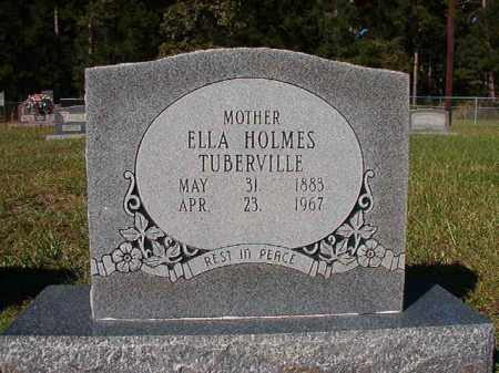 TUBERVILLE, ELLA - Dallas County, Arkansas | ELLA TUBERVILLE - Arkansas Gravestone Photos