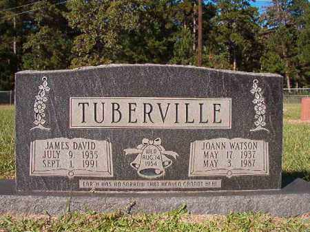 TUBERVILLE, JAMES DAVID - Dallas County, Arkansas | JAMES DAVID TUBERVILLE - Arkansas Gravestone Photos