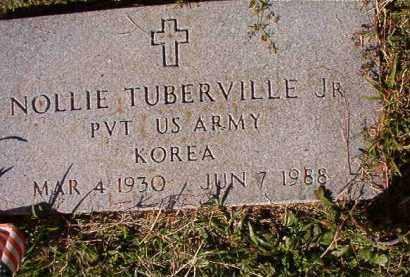 TUBERVILLE, JR (VETERAN KOR), NOLLIE - Dallas County, Arkansas   NOLLIE TUBERVILLE, JR (VETERAN KOR) - Arkansas Gravestone Photos