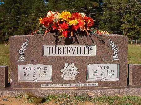 TUBERVILLE, PORTER - Dallas County, Arkansas | PORTER TUBERVILLE - Arkansas Gravestone Photos