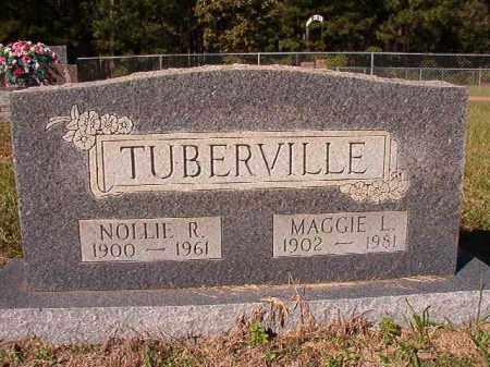 TUBERVILLE, MAGGIE L - Dallas County, Arkansas | MAGGIE L TUBERVILLE - Arkansas Gravestone Photos