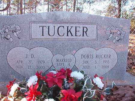 RUCKER TUCKER, DORIS - Dallas County, Arkansas | DORIS RUCKER TUCKER - Arkansas Gravestone Photos