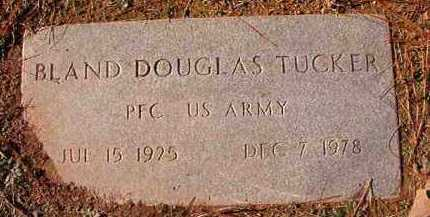 TUCKER (VETERAN), BLAND DOUGLAS - Dallas County, Arkansas   BLAND DOUGLAS TUCKER (VETERAN) - Arkansas Gravestone Photos