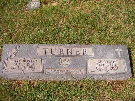 TURNER, BETTY BERLENE - Dallas County, Arkansas | BETTY BERLENE TURNER - Arkansas Gravestone Photos