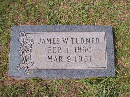 TURNER, JAMES W - Dallas County, Arkansas   JAMES W TURNER - Arkansas Gravestone Photos