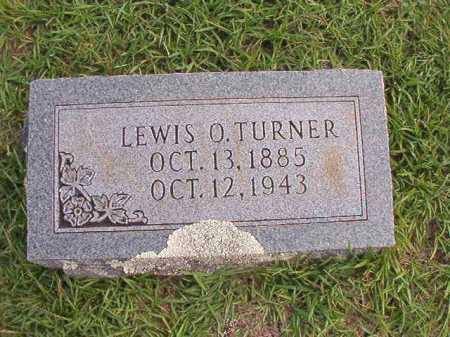 TURNER, LEWIS O - Dallas County, Arkansas | LEWIS O TURNER - Arkansas Gravestone Photos