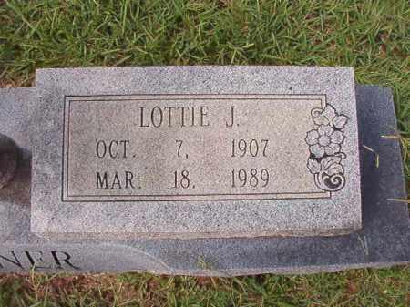 TURNER, LOTTIE J - Dallas County, Arkansas | LOTTIE J TURNER - Arkansas Gravestone Photos