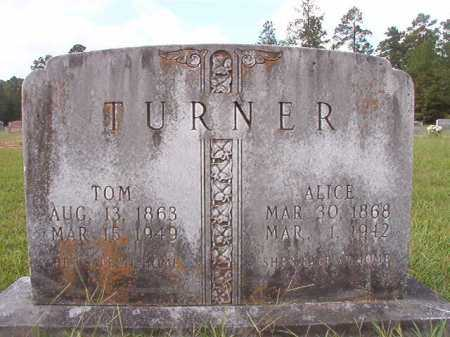 TURNER, TOM - Dallas County, Arkansas   TOM TURNER - Arkansas Gravestone Photos