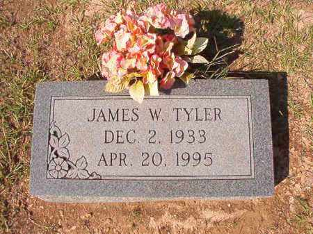 TYLER, JAMES W - Dallas County, Arkansas | JAMES W TYLER - Arkansas Gravestone Photos