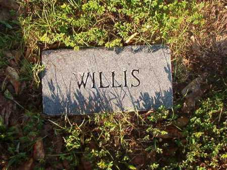 UNKNOWN, WILLIS - Dallas County, Arkansas | WILLIS UNKNOWN - Arkansas Gravestone Photos