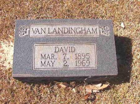 VAN LANDINGHAM, DAVID - Dallas County, Arkansas   DAVID VAN LANDINGHAM - Arkansas Gravestone Photos