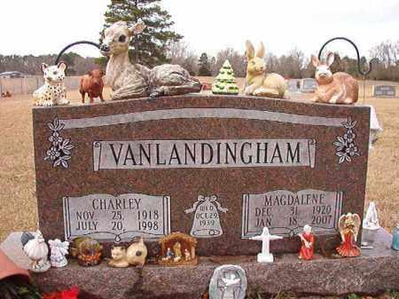 VANLANDINGHAM, CHARLEY - Dallas County, Arkansas | CHARLEY VANLANDINGHAM - Arkansas Gravestone Photos