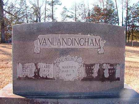 VANLANDINGHAM, JAMES WILLARD - Dallas County, Arkansas | JAMES WILLARD VANLANDINGHAM - Arkansas Gravestone Photos